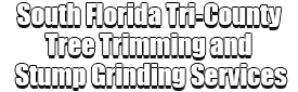 South Florida Tri-County Tree Trimming and Stump Grinding Services Logo-We Offer Tree Trimming Services, Tree Removal, Tree Pruning, Tree Cutting, Residential and Commercial Tree Trimming Services, Storm Damage, Emergency Tree Removal, Land Clearing, Tree Companies, Tree Care Service, Stump Grinding, and we're the Best Tree Trimming Company Near You Guaranteed!